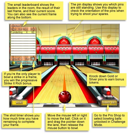 how to play bowling