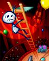 Hangman Hijinks - Climb The Ladder Badge