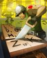 SCRABBLE - Woodworking Badge