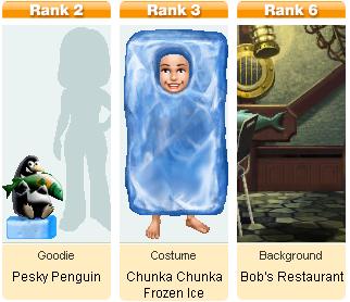 Penguin Blocks Mini Awards