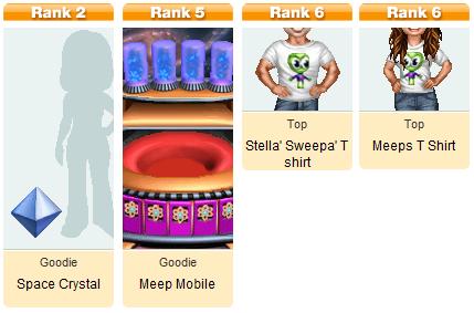 Stellar Sweeper Mini Awards