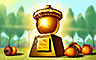 Everyone Wins Bingo Rank 60 Badge - Acorn Trophy