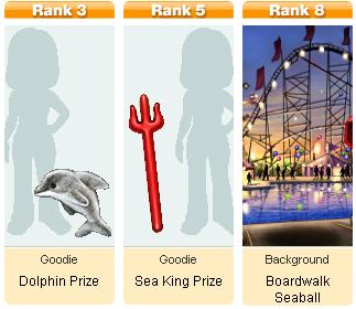 Mini Awards for Boardwalk Sea Ball