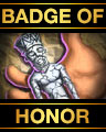 "Tri-Peaks Solitaire - Special Edition Badge - ""Badge of Honor"""
