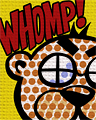 WHOMP! (Lichenstein Badge) Chat Icon