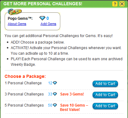 Coming Soon: Buy More Personal Badges with Gems