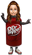 Dr. Pepper/EA Every Bottle Wins Promotional Mini Item - Can