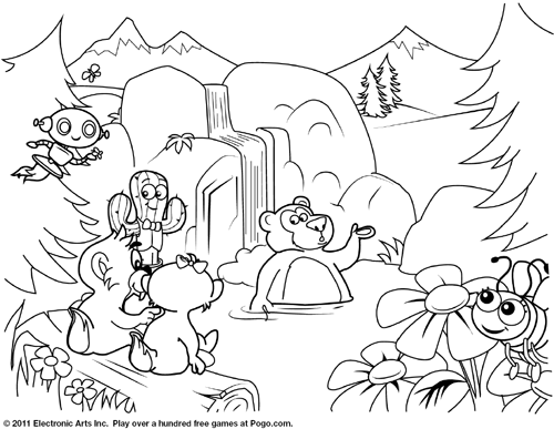Free Pogo Coloring Pages