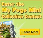 Enter the My Pogo Mini Collection Contest
