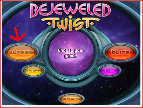 Bejeweled Twist - Fruit Gems - Classic Mode