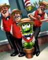 Poppit - Cactus Quartet Badge