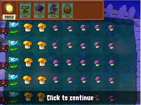 Plants vs. Zombies Round 1