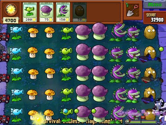 Plants vs. Zombies Round 2
