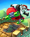 October 2012 Mix-n-Match Badge - Panda Pai Gow Poker
