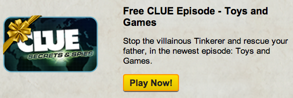Free Clue Episode for the Holiday Countdown