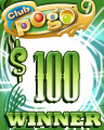 $100 Jackpot Spin Winner Badge