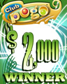 $2000 Jackpot Spin Winner Badge