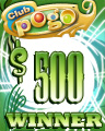 $500 Jackpot Spin Winner Badge