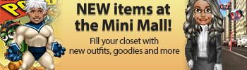 Mini Mall - Super Heroes