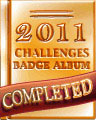 2011 Weekly Album Completion Badge