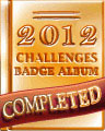 2012 Weekly Album Completion Badge