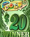 $20 Jackpot Spin Winner Badge