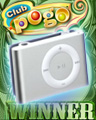 iPod Shuffle Prize Winner Badge