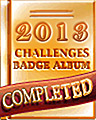 2013 Weekly Album Completion Badge