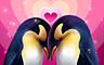 Claire Hart - Valentine's Special: Penguin Valentine - The Penguins Badge