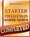 Starter Album Completion Badge