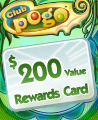 $200 Value Rewards Card Winner Badge