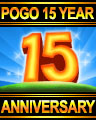 Pogo 15 Year Anniversary Special Edition Badge