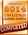 2014 Weekly Album Completion Badge