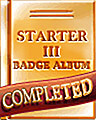 Starter Album III Completion Badge