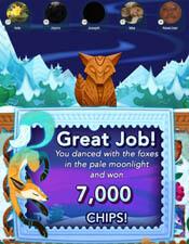 Tails of the Snow Fox - 7K Chips shared bonus