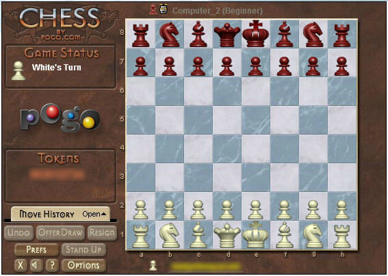 Chess: game board