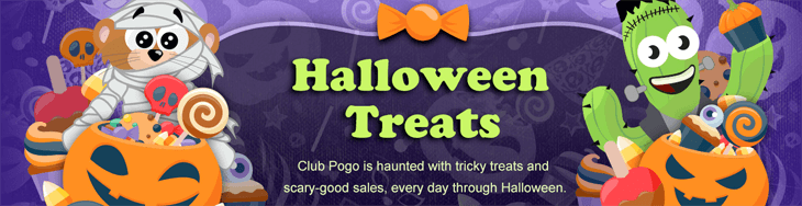 Pogo s 2016 halloween celebrations for Big fish casino free chips promo code