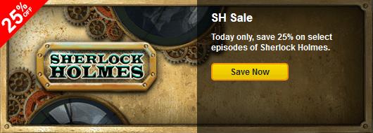 Sale on Sherlock Holmes Episodes