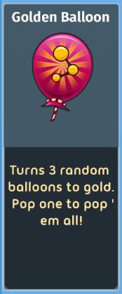 Poppit! Bingo - Golden Balloons