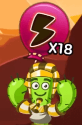 Spike and his Power-Up Meter