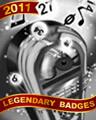 2011 Mix-n-Match Legendary Badge