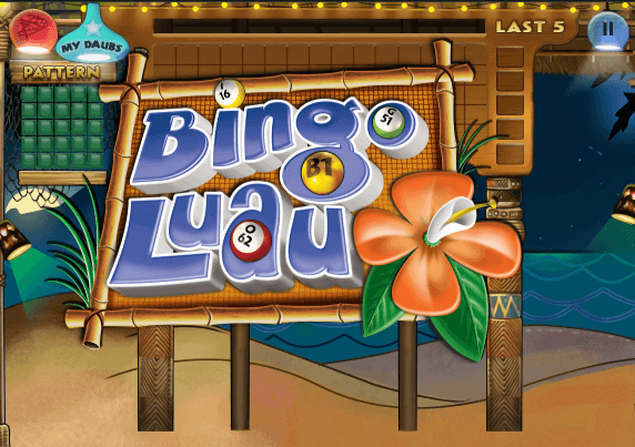 March 2017 game of the month bingo luau for Big fish casino free chips promo code