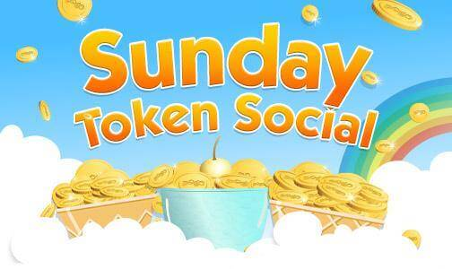 Sunday token social 03 12 for Gold fish casino promo codes