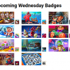 Upcoming Wednesday Badges