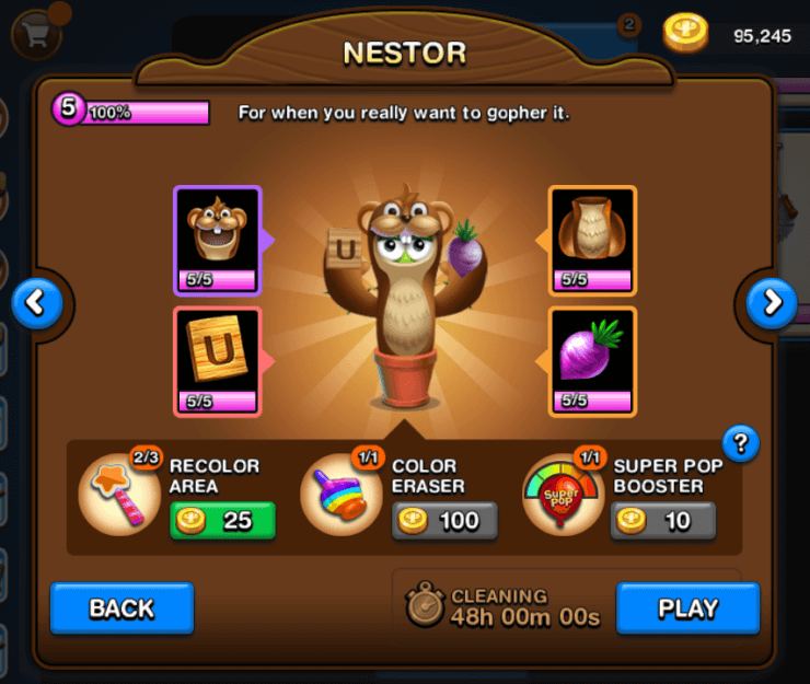Nestor Spike Costume in Poppit Party