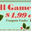 Coupon Code: Standard Version Games for Just $4.99