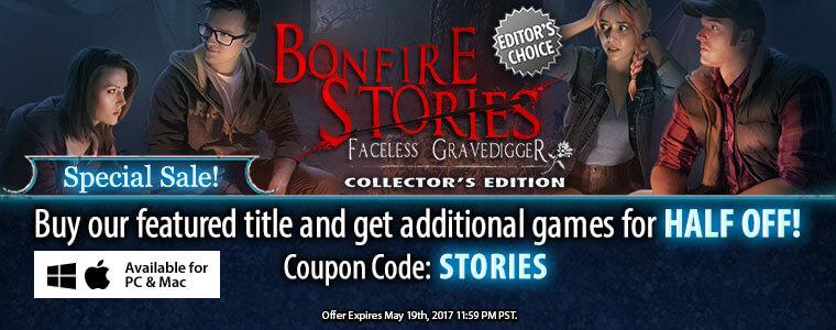 Bonfire Stories: The Faceless Gravedigger CE + Bundle Sale