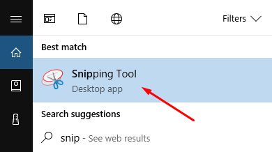 How to Find the Windows Snipping Tool