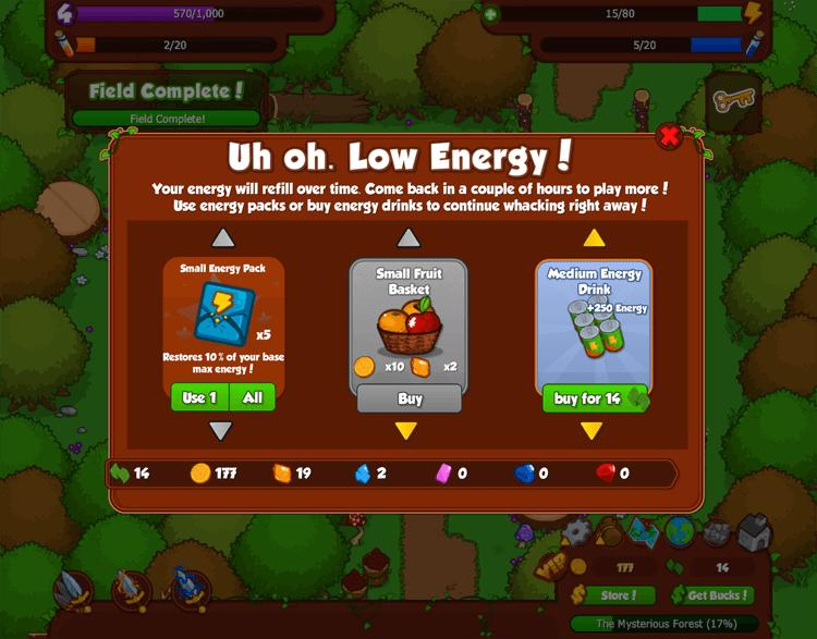 Bush Whacker 2: Energy