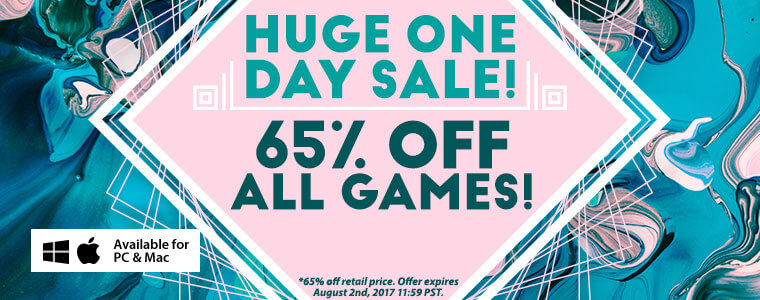 Huge one day sale 65 off all games for Big fish casino promo code free chips
